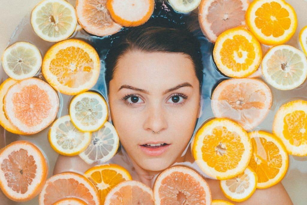 skin lightening citrus